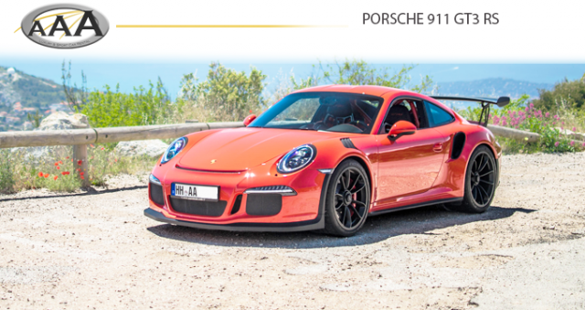 Hire Porsche GT3 RS AAA Luxury and Sport car rental