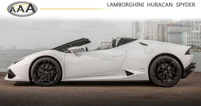 The new Huracan Spyder is now available