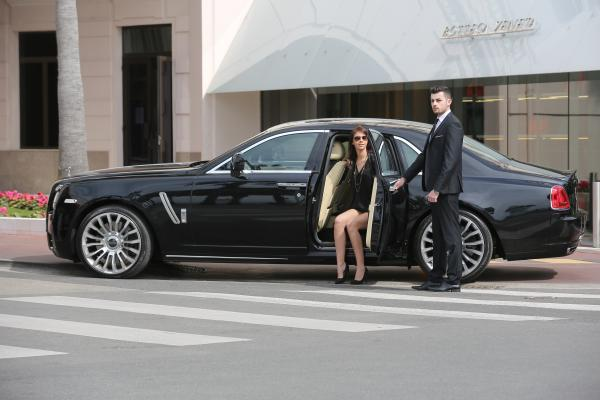 Chauffeured Service during the 2016 Cannes Film Festival