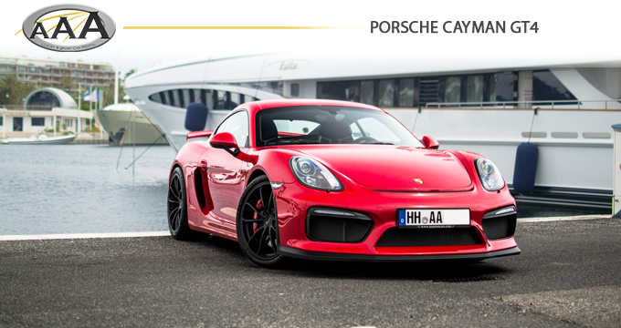 Porsche Cayman GT4 | Hire Luxury car | AAA Luxury & Sport car rental